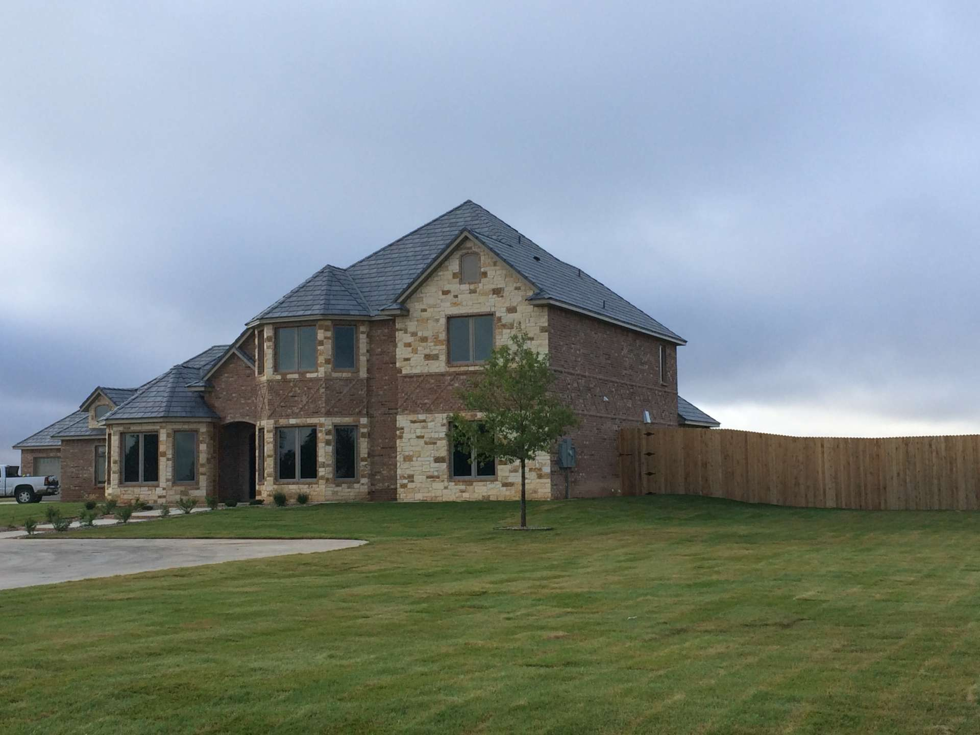 Custom Cole Stanley Home with Bay Windows