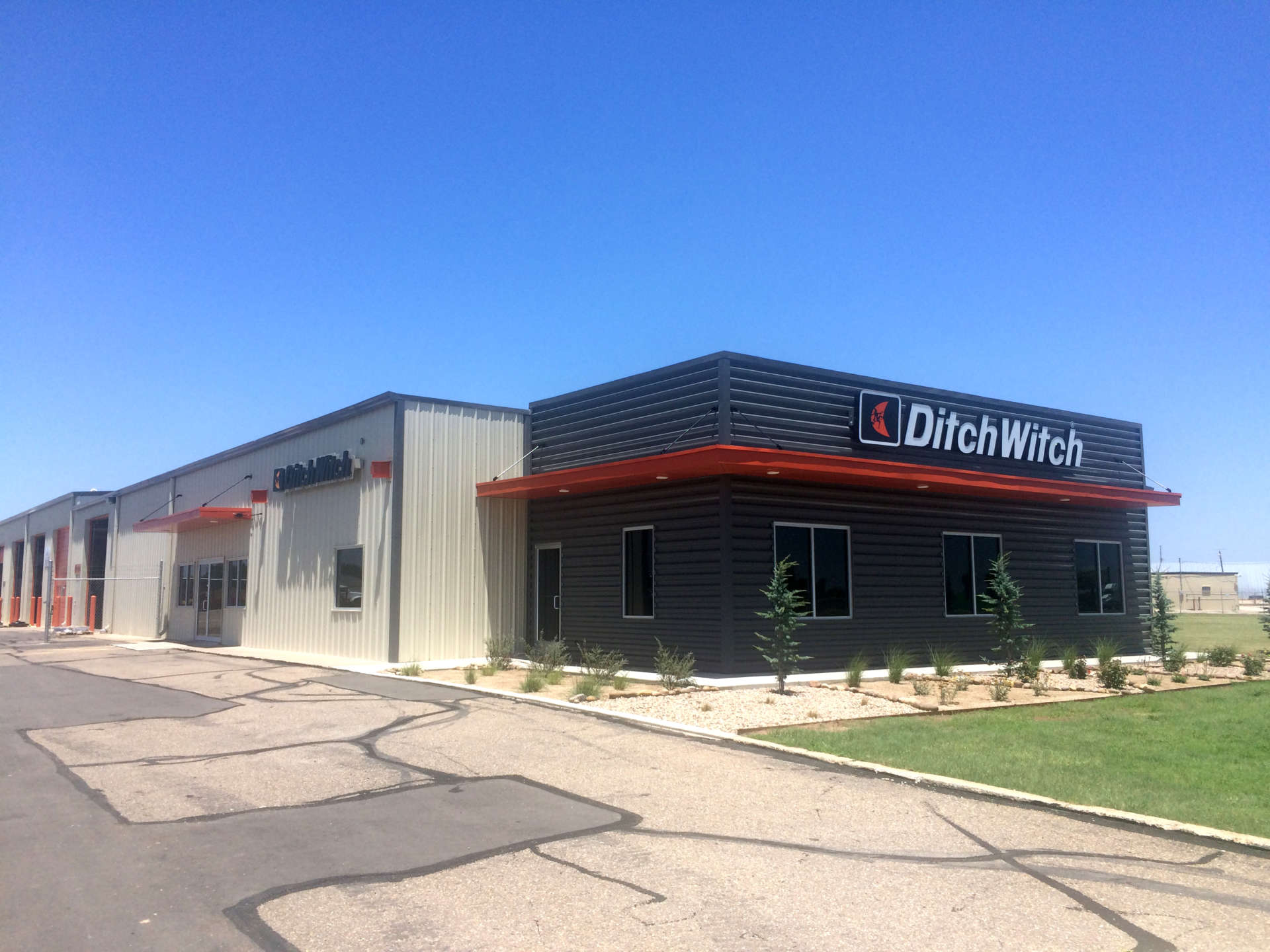 Ditch Witch Exterior in Amarillo Texas