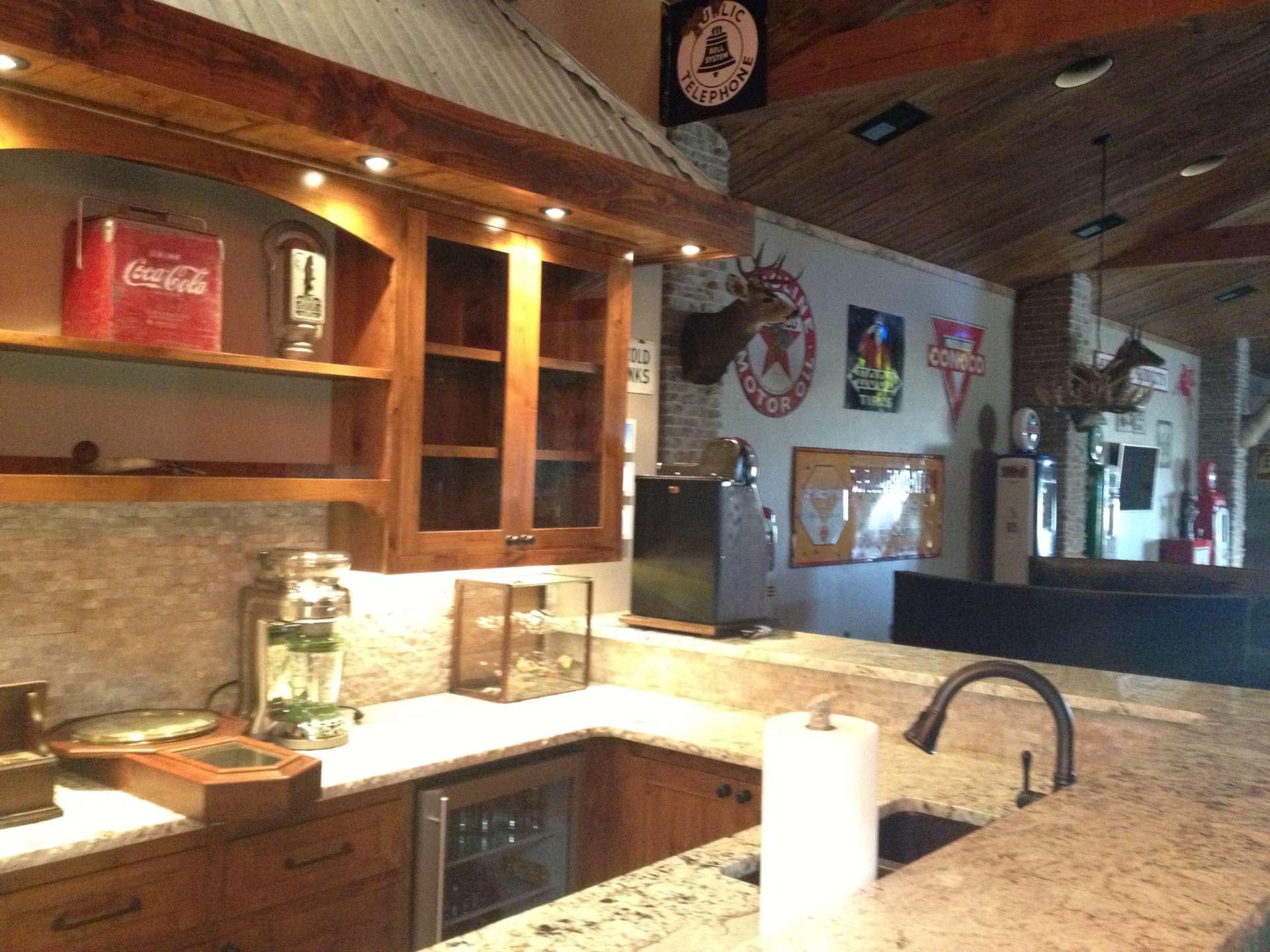 Custom Bar Kitchen