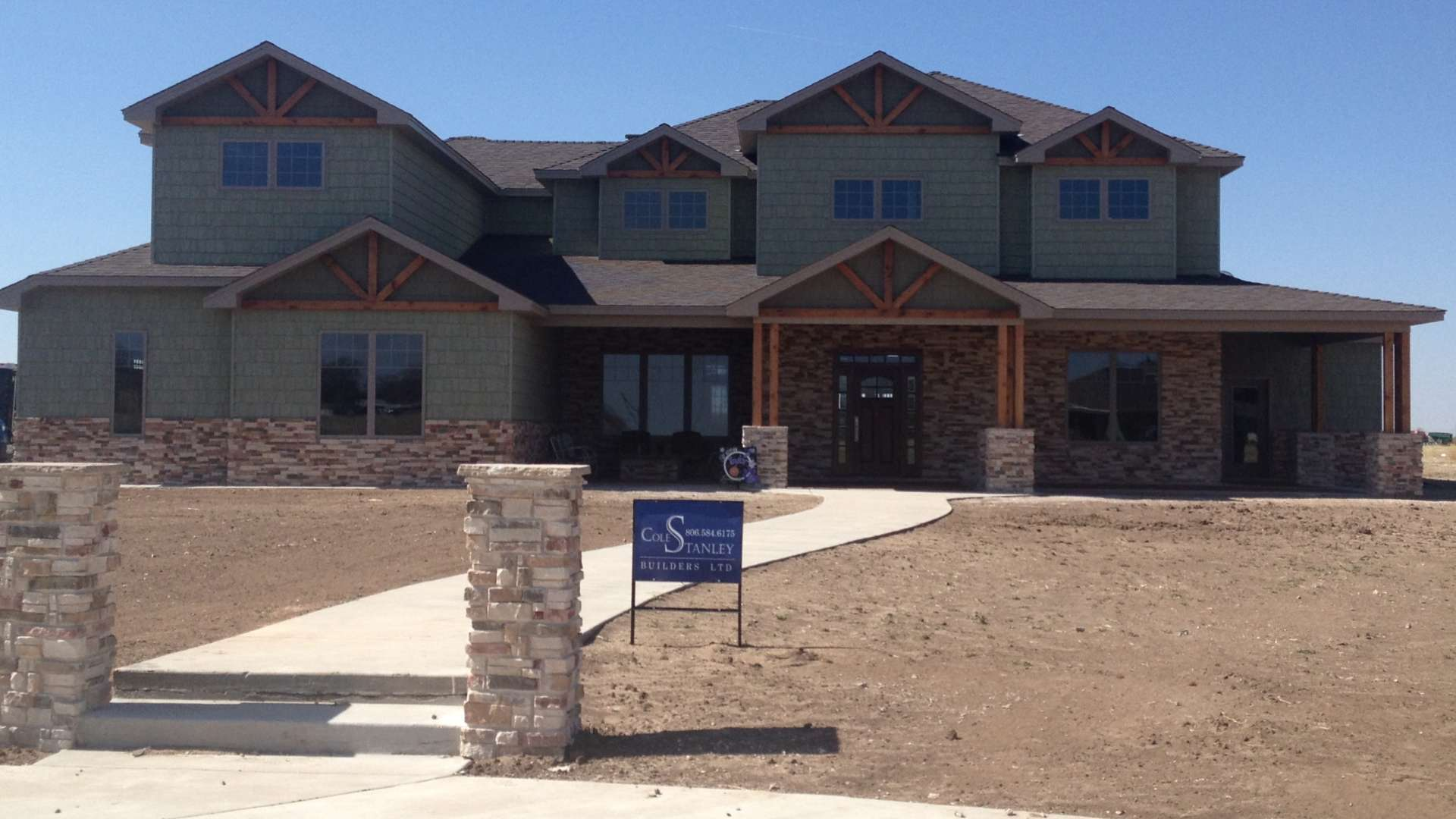 Cole Stanley Builders LTD new amarillo home