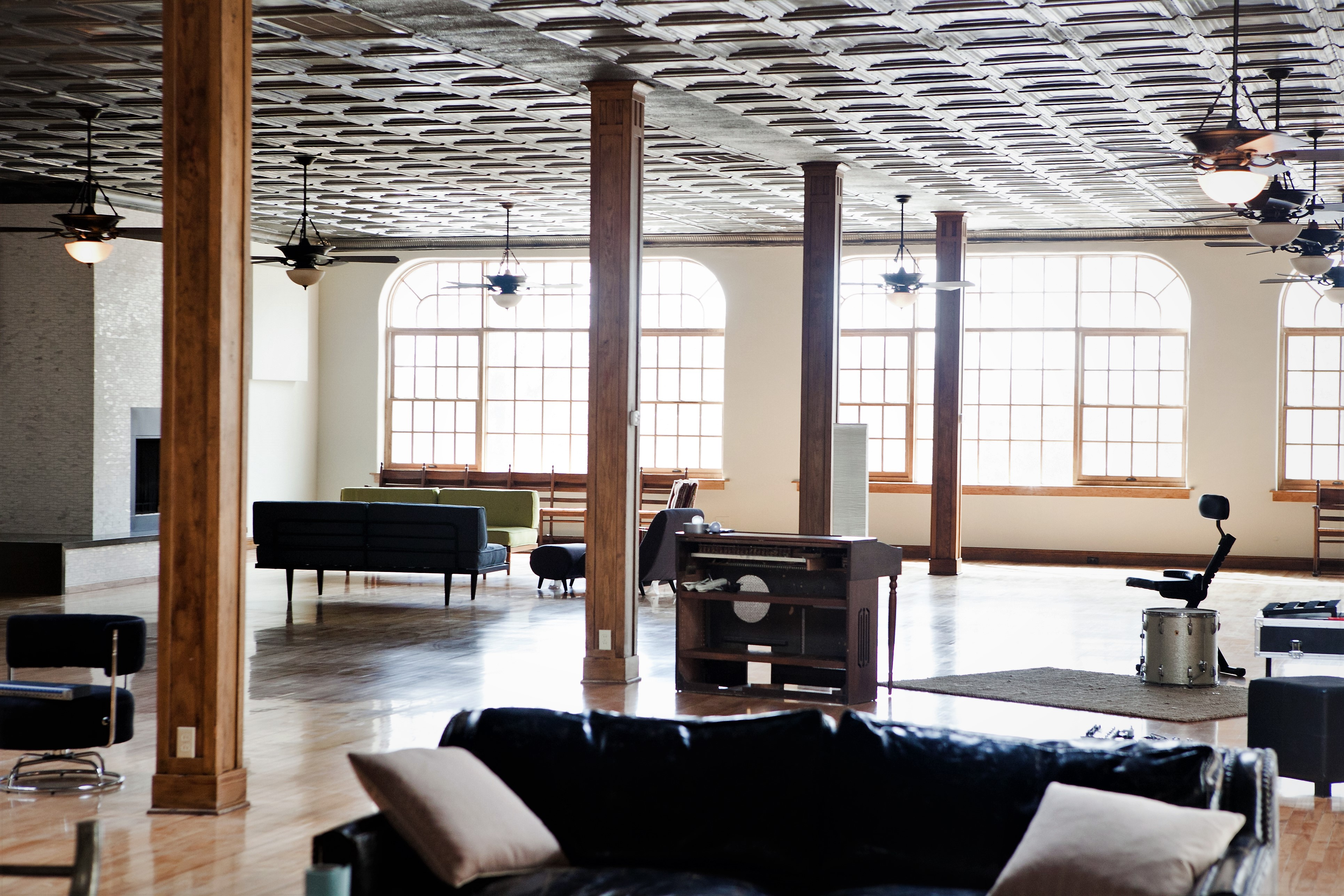 cole stanley homes downtown loft living room